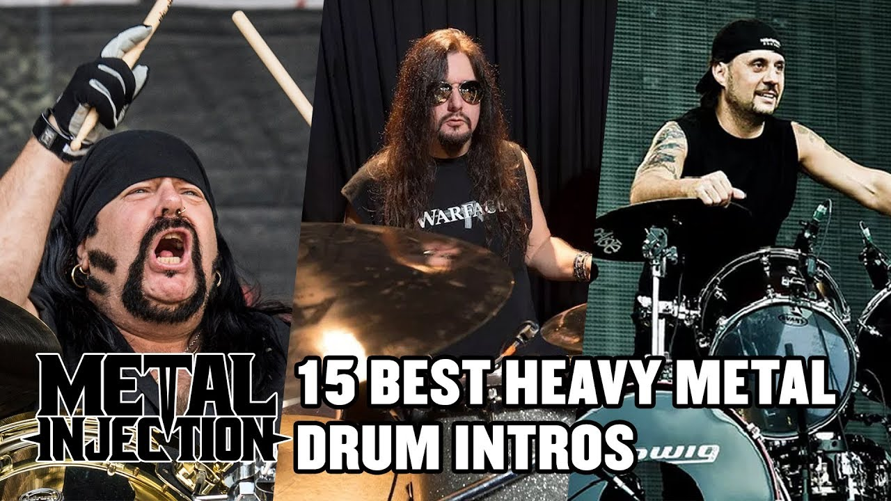countdown the 15 greatest drum intros of heavy metal. Black Bedroom Furniture Sets. Home Design Ideas